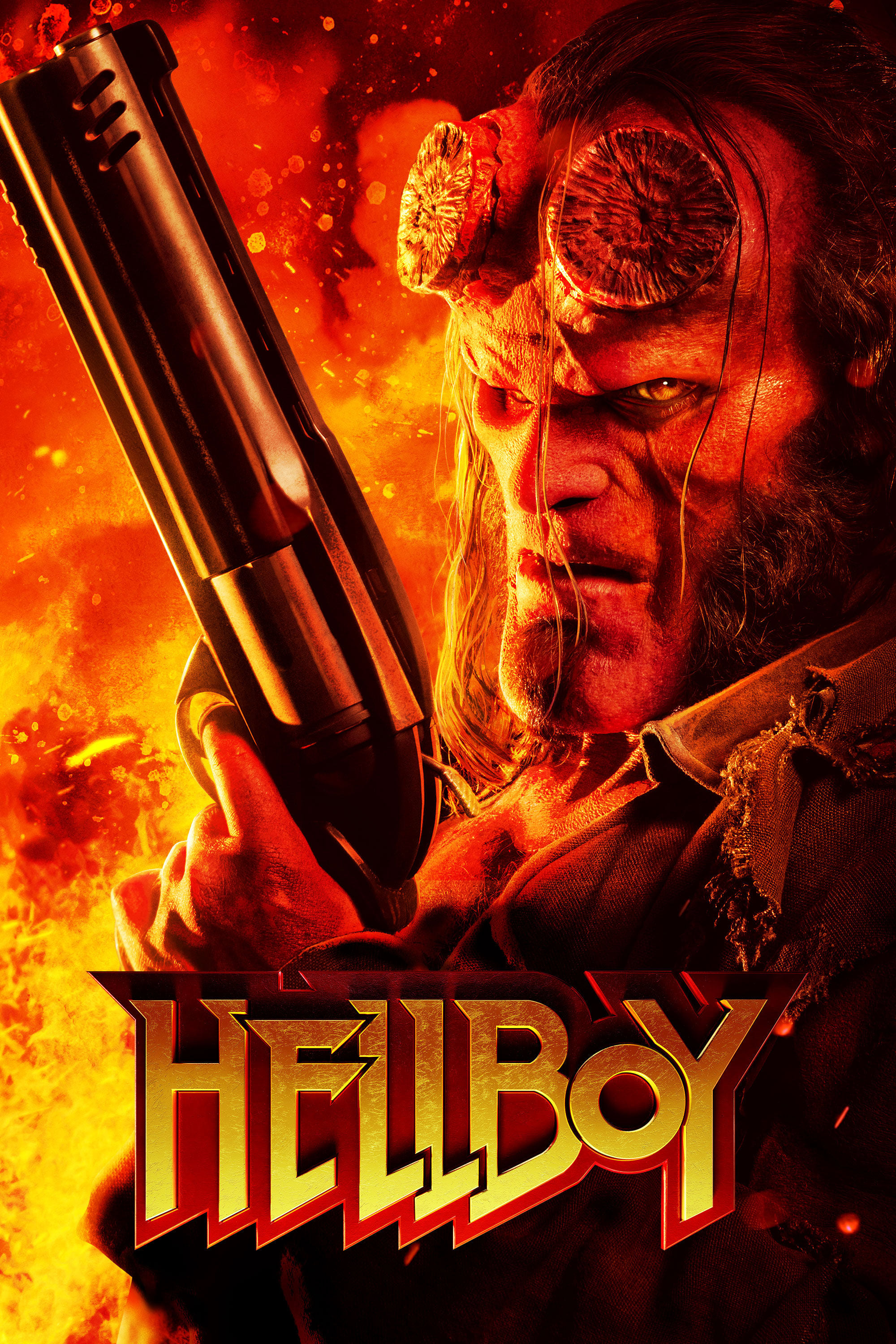 """Poster for the movie """"Hellboy"""""""