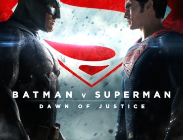 "Poster for the movie ""Batman v Superman: Dawn of Justice"""