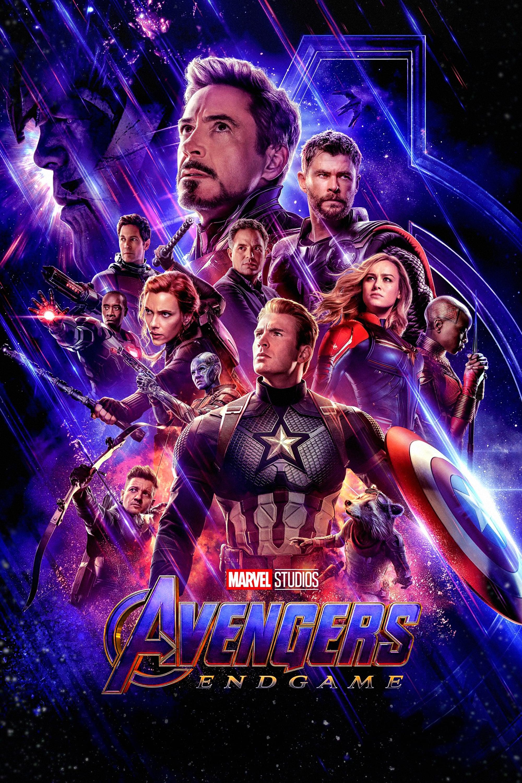 """Poster for the movie """"Avengers: Endgame"""""""