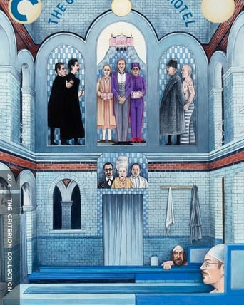 "Poster for the movie ""The Grand Budapest Hotel"""