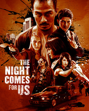 """Poster for the movie """"The Night Comes for Us"""""""