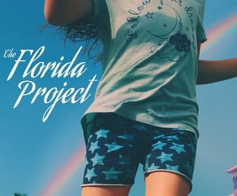 "Poster for the movie ""The Florida Project"""