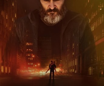 "Poster for the movie ""You Were Never Really Here"""