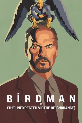 """Poster for the movie """"Birdman or (The Unexpected Virtue of Ignorance)"""""""