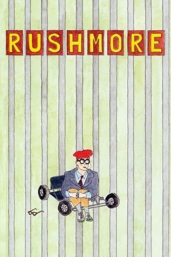 """Poster for the movie """"Rushmore"""""""