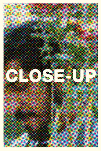 "Poster for the movie ""Close-Up"""