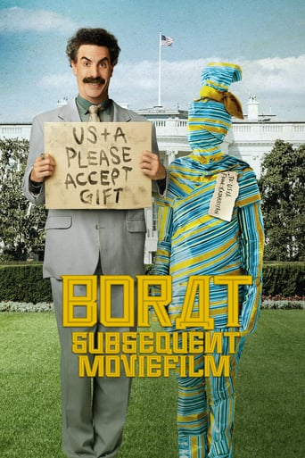 """Poster for the movie """"Borat Subsequent Moviefilm"""""""