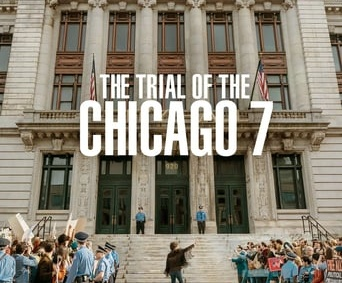 "Poster for the movie ""The Trial of the Chicago 7"""